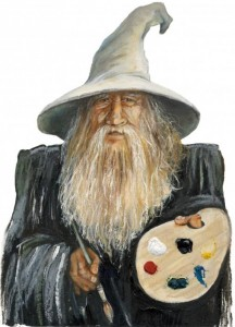 Painting wizard - J W Baker
