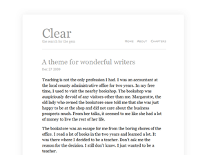 Clear - Tema per WordPress