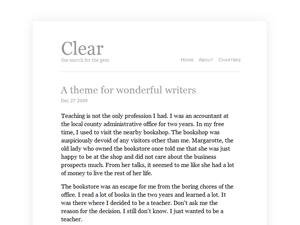 Clear - Tema per Wordpress