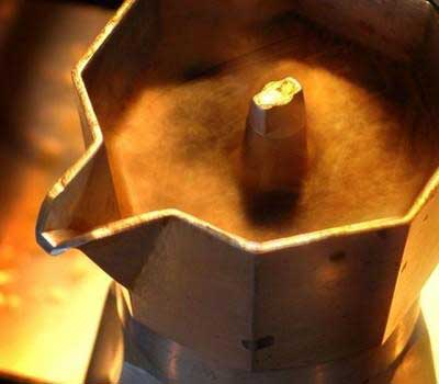 Il piacere del caffè con la moka