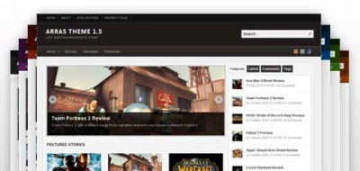 Arras Theme e WordPress 3.2