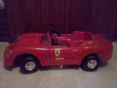 Ferrari 250 GTO a pedali
