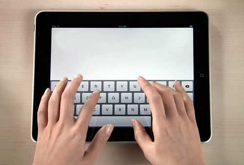 Difficoltà nel bloggare con iPad