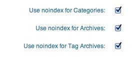 Configurazione All in one SEO per WordPress per tag, archivi e categorie