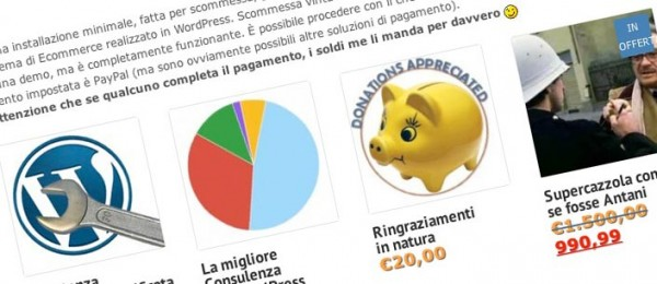 Realizzare un Ecommerce con WordPress