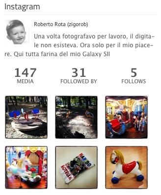 Widget per Instagram su WordPress