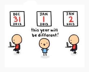 Auguri per un 2013 differente davvero!