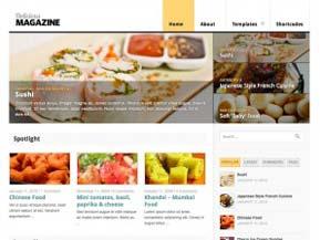 Delicious Magazine tema professionale magazine per WordPress