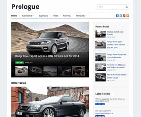 Prologue tema professionale magazine per WordPress