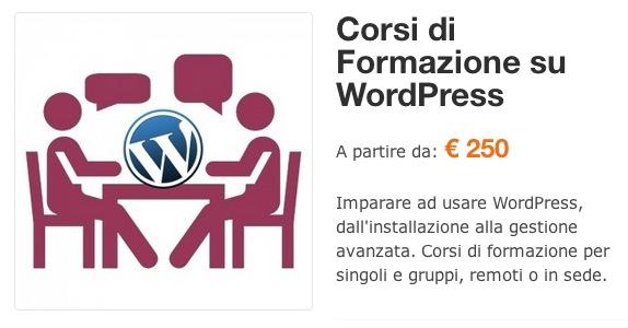 Corsi di Formazione WordPress - Prezzi prodotti variabili WooCommerce corretti