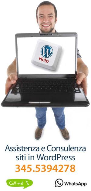 Cerchi aiuto con WordPress?