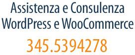 Consulenza e assistenza tecnica specializzata per siti in WordPress e WooCommerce