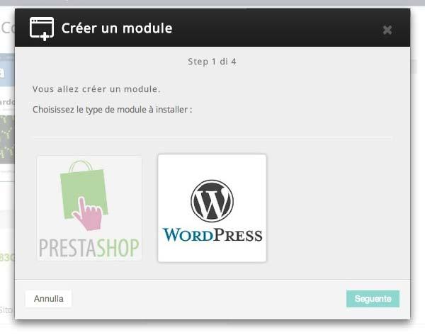 Installare WordPress con 1 click conviene?