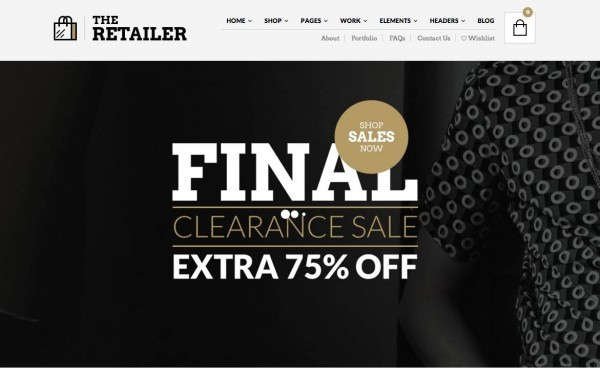 The Retailer - tema WordPress premium per WooCommerce