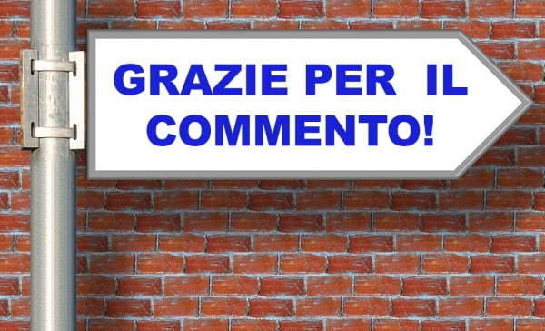 Pagina ringraziamento per commenti WordPress