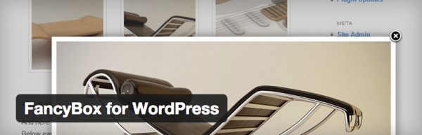 FancyBox for WordPress security update