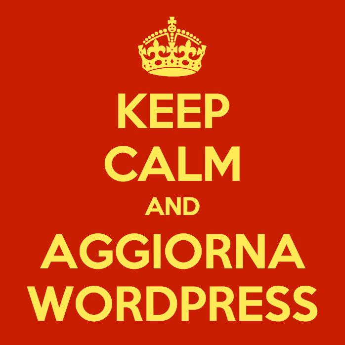Aggiorna WordPress per la tua sicurezza