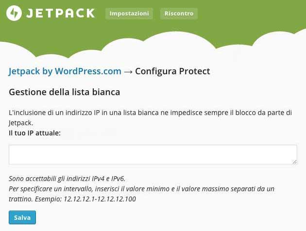 Nuovo Jetpack con difesa da attacchi Brute Force