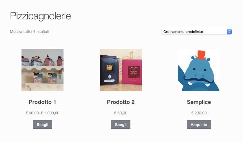 Rinominare titolo pagina prodotti WooCommerce
