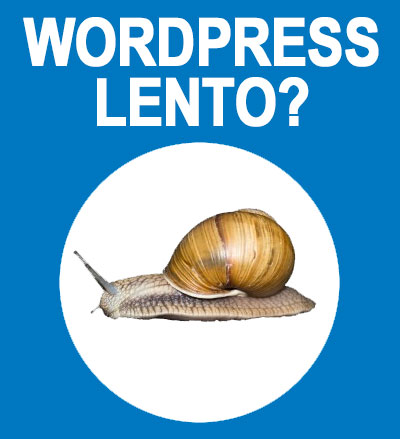 Velocizzare WordPress lento