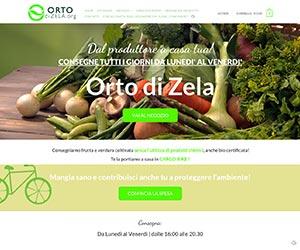 Orto di Zela: frutta e verdura coltivata senza l'utilizzo di prodotti chimici.