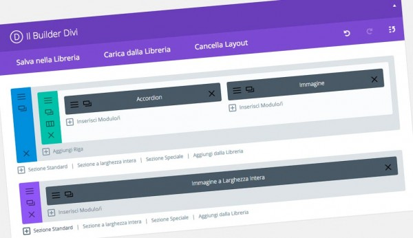 Divi Builder, il miglior page builder per WordPress