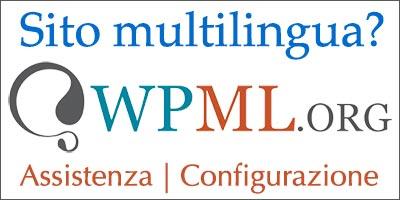 Assistenza e configurazione siti multi-lingua WPML