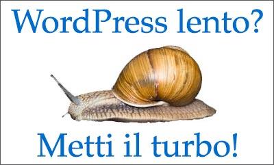 Come ottimizzare prestazioni WordPress lento