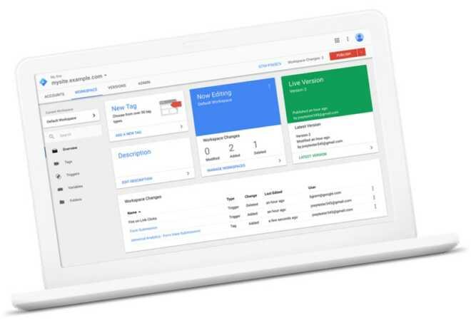 Google Tag Manager per inserire script e codici di monitoraggio facilmente