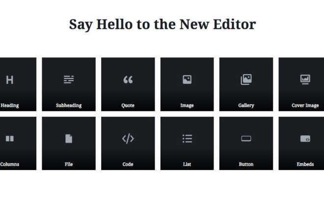 Aggiornamento WordPress Gutenberg