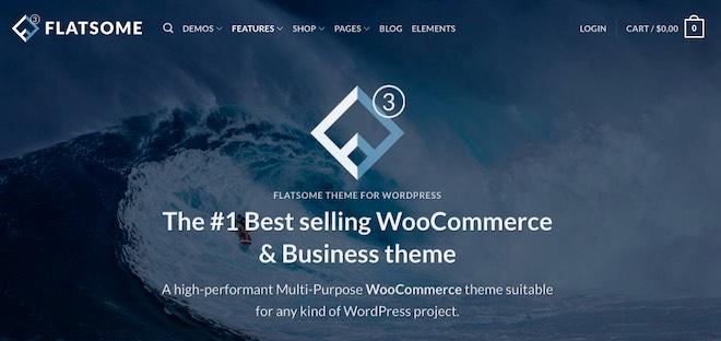 Flatsome miglior tema WordPress per WooCommerce
