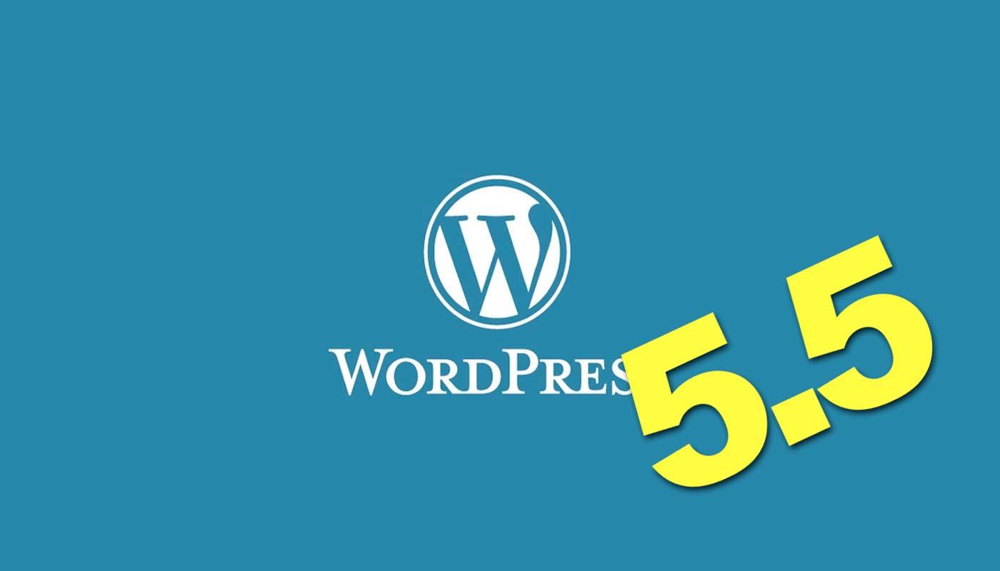 WordPress 5.5 caratteristiche