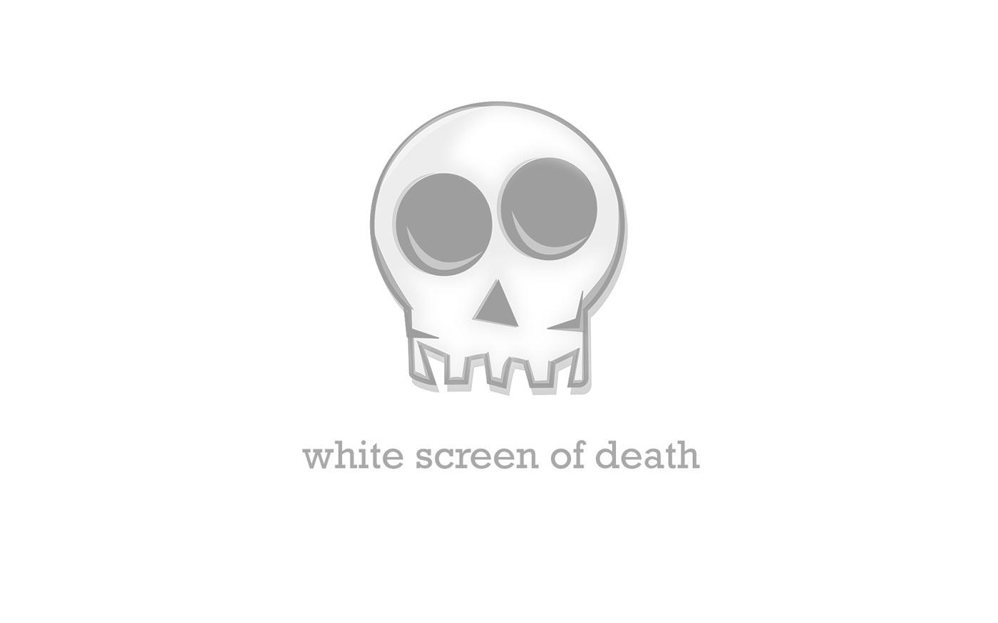 Errore schermo bianco di WordPress