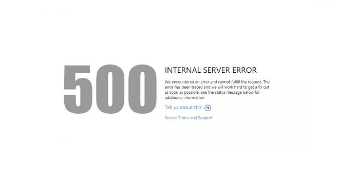 Come risolvere l'errore 500 Internal server error