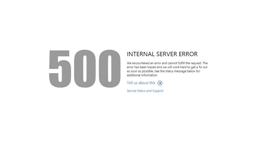 Come risolvere l'errore 500 Internal server error