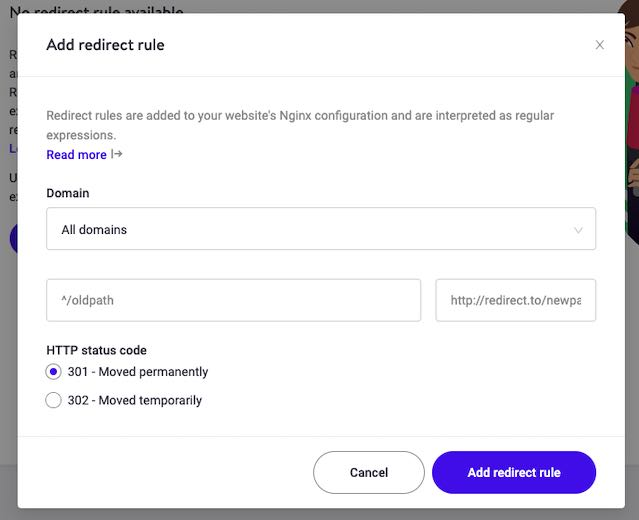 Redirect su NGINX - Kinsta